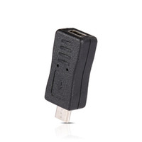 carregador de tipo b venda por atacado-Mini USB Macho para Micro USB Feminino B Tipo Carregador Adaptador Conversor Conversor