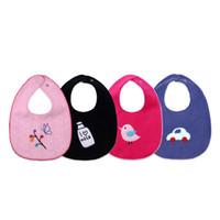 1398c3e32 Bebê babadores INS Burp Cloths Bordado Dos Desenhos Animados de Algodão Bebê  Frente e verso À Prova D  Água Crianças Crianças Saliva Toalha Infantil  Menino ...