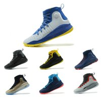 Wholesale mens basketball shoes mvp - 2018 Stephen Curry 4 Basketball casual Shoes steph Mens Curry 4 GoldChampionship MVP Finals Sports training Sneakers Run Shoes Size 4