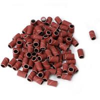 schleifband für nagelbohrer großhandel-Fantastischer 100pcs Nagel-Spezialpapier Drill 120