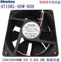 Original NMB 12038 DC24V 0.2A 4715KL-05W-B19 12cm 120 120 38MM Cooling fan