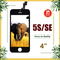 Wholesale fast display - For Grade A+++ iPhone 5s 5SE LCD Display Touch Screen Digitizer Brand Replacement full Assembly & free Fast DHL shipping