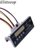 Wholesale car radio decoder - Bluetooth Hands-free USB FM Aux Radio MP3 Player Integrated Car USB MP3 Decoder Board Module Remote Control For Car