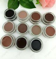 différentes couleurs de sourcils achat en gros de-Gel de sourcils Enhancers Coloration imperméable à l'eau de crème de sourcils Maquillage naturel de sourcils durable ont 11 couleurs différentes 4g