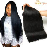 Wholesale piano hair resale online - Brazilian Virgin Hair Straight Bundles a Unprocessed Brazilian Straight Hair Weave Bundles Brazilian Straight Human Hair Extensions