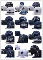 Wholesale c arts - Football Adjustable Snapbacks Hip hop Flat hat Sports Team Dallas-C Quality Caps For Men And Women The High quality embroidery