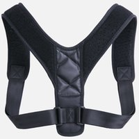 ingrosso corsetto di cura del corpo-Regolabile postura correttore bretelle supporto del corpo corsetto indietro cintura ortodontica per gli uomini cura salute forniture banda vendita calda 20mk Ww