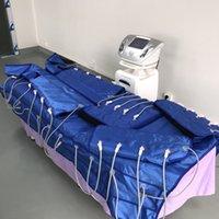 cobertor fino venda por atacado-O corpo portátil que dá forma a máquina do emagrecimento de Pressotherapy desintoxica a máquina de drenagem linfática da perda de peso do cobertor distante infravermelho