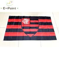 regalos de brasil al por mayor-Brasil Clube de Regatas do Flamengo RJ 3 * 5 pies (90 cm * 150 cm) bandera de poliéster decoración de la bandera volando la bandera del jardín de su casa regalos festivos