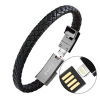 iphone usb bracelet achat en gros de-Bracelet de sport câble de chargeur usb type-c pour adaptateur de ligne téléphonique de données charge rapide iphone X 7 8 plus ayfon samsung S8 fil portable