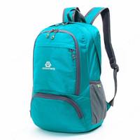 ce465ac36e8e Lightweight Foldable Waterproof Nylon Women Men Skin Pack Backpack 20L  Travel Outdoor Sports Camping Hiking Bag Rucksack