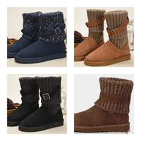 Wholesale Women WGG Australia Classic Boots girl triple black blue Brown Khaki boots Snow Winter boots leather outdoor shoes size