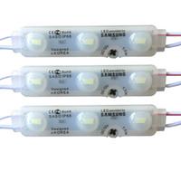 lider kanal modülleri toptan satış-SAMSUNG ile SMD5630 LED Modülü Işıkları enjeksiyon Led Modülleri lens ile Led Burcu Backlights Kanal Mektuplar Reklam Işık dükkanı banner