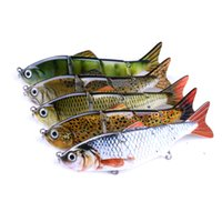 Wholesale fish shaped lure for sale - Hengjia Hard Segmented Fishing Lure Jointed Baits pieces with cm g Treble Sharp Hooks with Bionic Fish Shape Swimming Vivid Action