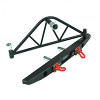 Wholesale Rock Rc - Rock climbing model car scale 1:10 Metal back part Rear Bumper for 1 10 RC Crawler Axial SCX10 & SCX10 II 90046 90047