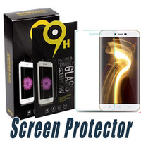 Wholesale F1 Mini - Tempered Glass Screen Protector Anti Explosion 9H 2.5D For Coolpad 8705 Dazen F1 F2 F3 Note Note3 X7 K1 K1 Mini K1-NT