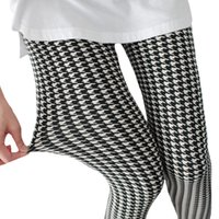 Wholesale Red Stripe Leggings - 2018 High Quality Leggings Women Floral Elastic Printed Leggings Lady White Stripe Sporting Leggings Black Fitness Push Up Jegging