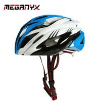 mujer bicicleta de carretera casco al por mayor-MEGANYX MTB Bicycle Helmet Casco Ciclismo de Seguridad Deportiva OFF-ROAD Super Mountain Bike Mujer Hombre C