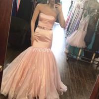 vestido de fiesta melocotón talla 14 al por mayor-