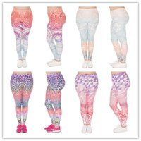 eee7b2d782098 10pcs lot Mandala Ombre Leggings Women Printing Yoga Work Out Legging  Stretchy Trousers Plus size Leggings 4 colors