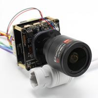 ip-board-kamera-objektiv großhandel-H.265 POE DIY IP-Kameramodul mit IRCUT 2,8-12 mm OBJEKTIV Hi3516E 1080P IPC-Innenkamera Mobile APP XMEYE ONVIF