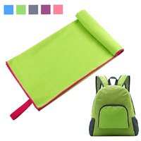 Wholesale Microfiber Towels Set Beach Towel Set Lightweight Travel Towel Backpack Fast Drying Towel for Beach Travel Camping Gym Yoga Sports