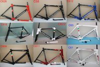 Wholesale pink carbon fibre online - HOT Colnago c60 carbon Road bike Frame full carbon bicycle frame T1000 full carbon bike frame set Multi color