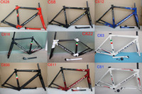 Wholesale Colnago Road Bicycle - HOT 2018 Colnago c60 carbon Road bike Frame full carbon bicycle frame T1000 full carbon bike frame set 25 Multi color