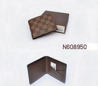 Wholesale price photos - low price men leather brand classic luxury card wallet casual short designer card holder holder pocket fashion wallets men coin wallet