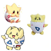 Wholesale togepi plush toy - Hot ! High Quality Cut Togepi Pikachu Plush Doll Stuffed Animals Toy For Baby Best Gifts 13cm