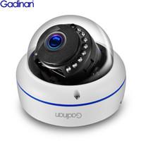 câmeras ip 3mp venda por atacado-Camera GADINAN H.265 / H.264 HD 3MP SONY IMX323 1080P 960P 720P IP ONVIF 2.0MP IP66 cúpula de metal de rede Night Vision IR-Cut Camera