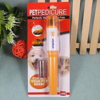 ingrosso smerigliatrici elettriche-Smerigliatrice elettrica tagliaunghie portatile per smerigliatrice per cani, gatti e altri piccoli animali di media taglia grande (senza batterie)