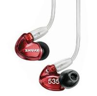 kulaklıklar gürültü iptali toptan satış-SE535 Shure Kulak HIFI Kulaklık Gürültü Iptal Kulaklıklar dengeli armatured kulaklık