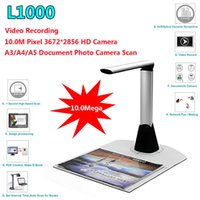 Wholesale Scanner Camera - Free shipping!L1000 Mini A3 A4 A5 10Mega 3672*2856 Document Book Photo ID Scanner Camera New