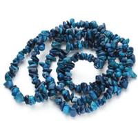 korallenstein naturals großhandel-5-8mm 1 Strang ca. 80 cm / 31,5