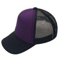 Wholesale blue baby hat - 16 Colors Kids Baby Children Trucker Cap Adult Mesh Caps Blank Trucker Hats Snapback Hats Accept Custom Made Logo