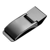 metallwaren großhandel-Männer Edelstahl Pocket Cash Geldscheinklammer Brieftasche Halter Fitted Design