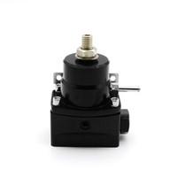 ingrosso regolatore di carburante ad alta pressione-Regolatore di pressione bypass ad iniezione per carburante ad alte prestazioni Kit 0-150 PSI AN6 / AN6
