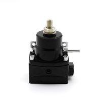 regulador de combustible de alta presión al por mayor-Regulador de presión de bypass de alto rendimiento con inyección de combustible 0-150 PSI Kit AN6 / AN6