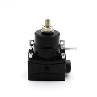 regulador de combustível de alta pressão venda por atacado-Regulador de Pressão de Bypass Injetado de Alto Desempenho 0-150 PSI Kit AN6 / AN6