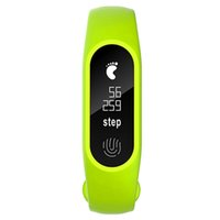 pantalla de reloj oled al por mayor-Sport Smart Wristband Men Women Recordatorio de llamadas Sleep-cycle Reloj inteligente Alarm Sleep Fitness Tracker OLED Display IP67 Waterproof