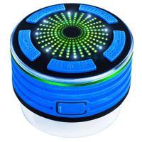 chuveiros de construção venda por atacado-Chuveiro Rádio Alto-falantes Portátil IPX7 À Prova D 'Água Bluetooth Speaker F013 Exterior Mini Coluna com Rádio FM Embutido LED Luzes de Humor