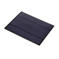 Wholesale solar panel online - 20Pcs W V Mini Polycrystalline Solar Cell Panel PET Laminated Solar Cell Size mm for Research Experiment and Test