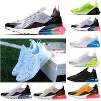 timeless design 77ef2 22a05 2018 270 recién llegado para mujer zapatos para hombre verde negro blanco  cojín Triple France Sneakers atletismo zapatillas para correr EUR tamaño 36- 45 ...