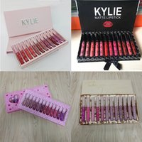 Wholesale kylie lipsticks for sale - kylie Cosmetics Vacation Edition Lipgloss kyli Take me on Vacation Matte lipsticks Lip Gloss Set Dropshipping