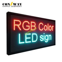 Wholesale Scrolling Led Screen - Free shipping and CE approved electronic led scrolling screen panel with RGB color and size 1232*656mm