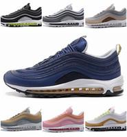воздушная спортивная обувь цена оптовых-Низкая цена, идеальный воздух подошва спортивная обувь высокого качества мужские и женские кроссовки новое поступление на воздушной подушке OG Metallic кроссовки