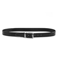 Wholesale Reversible belts fashion design classical needle bucket with diamond texture polished and matted metal bucket gold silver gun color
