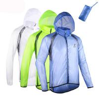 arsuxeo ceket toptan satış-ARSUXEO Erkekler Koşu Ceket Açık Spor Su Geçirmez Rüzgar Geçirmez Paketi Bisiklet Bisiklet Bisiklet Giyim Ceket Jersey Rüzgar Geçirmez Yağmurluk