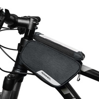 Wholesale roswheel frame bag for sale - Group buy ROSWHEEL Bike Frame Bag Cycling Top Tube Pannier with Cell Phone Holder